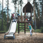 Lappset outdoor children's play equipment