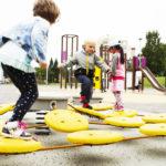 lappset balancing playground equipment