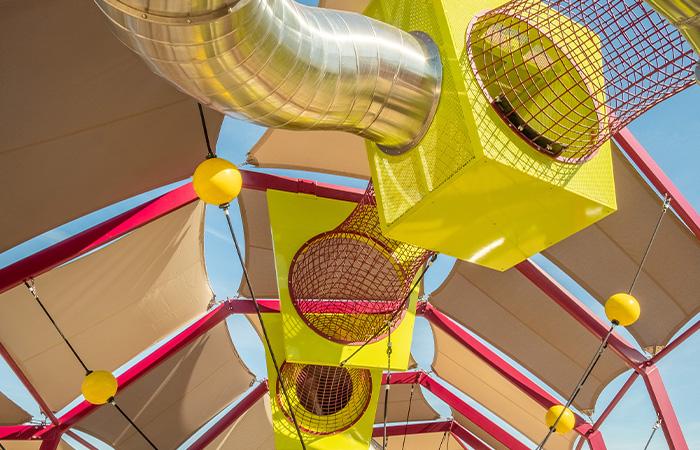 designed playground and slide premium