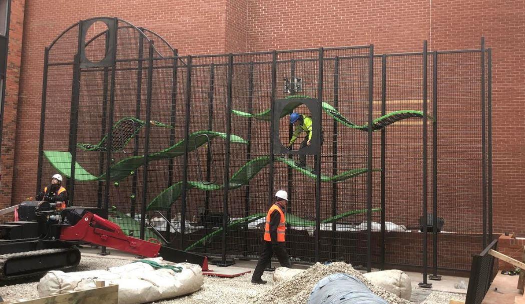 wallholla under construction
