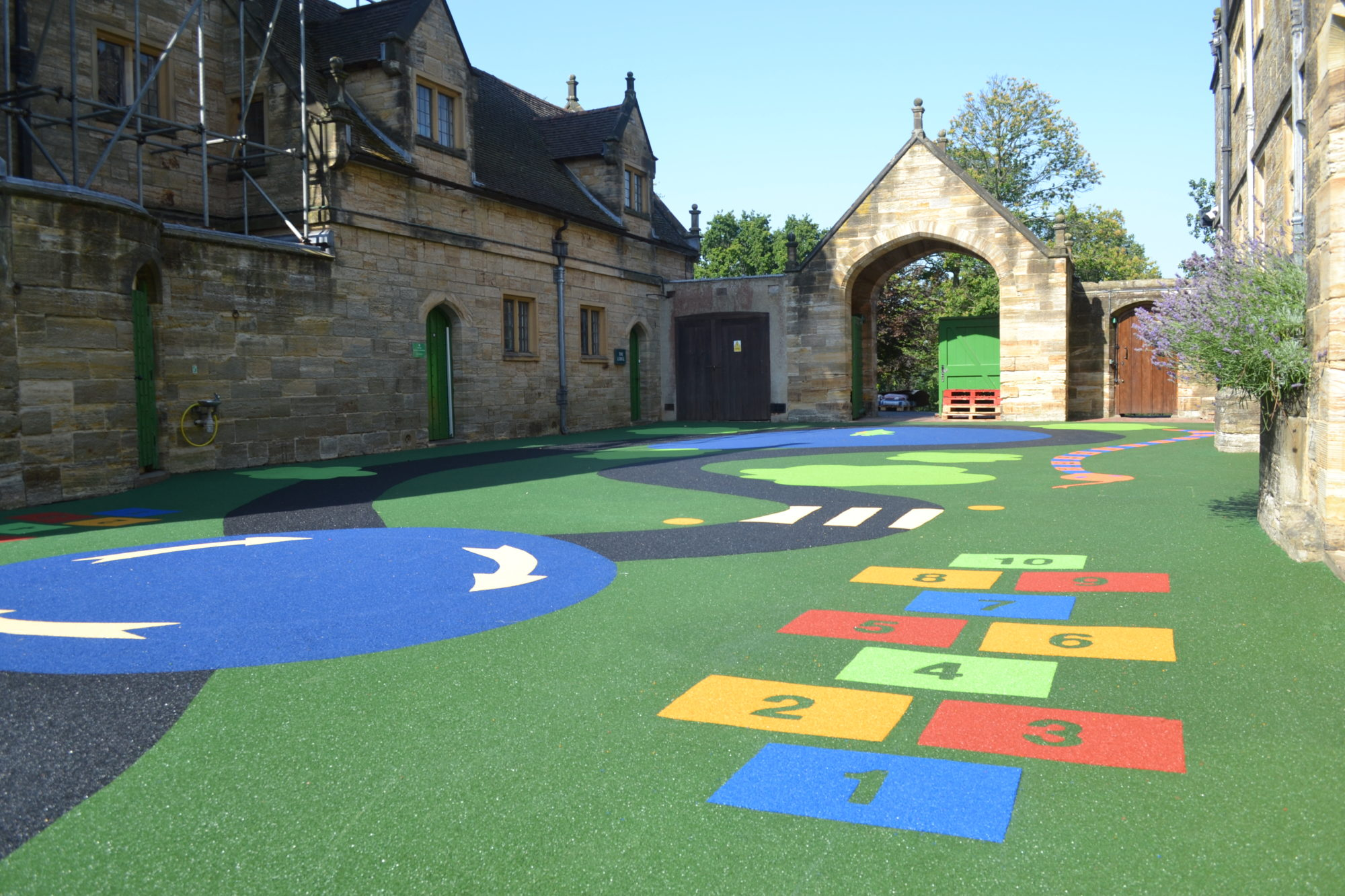 safety surface graphics playground