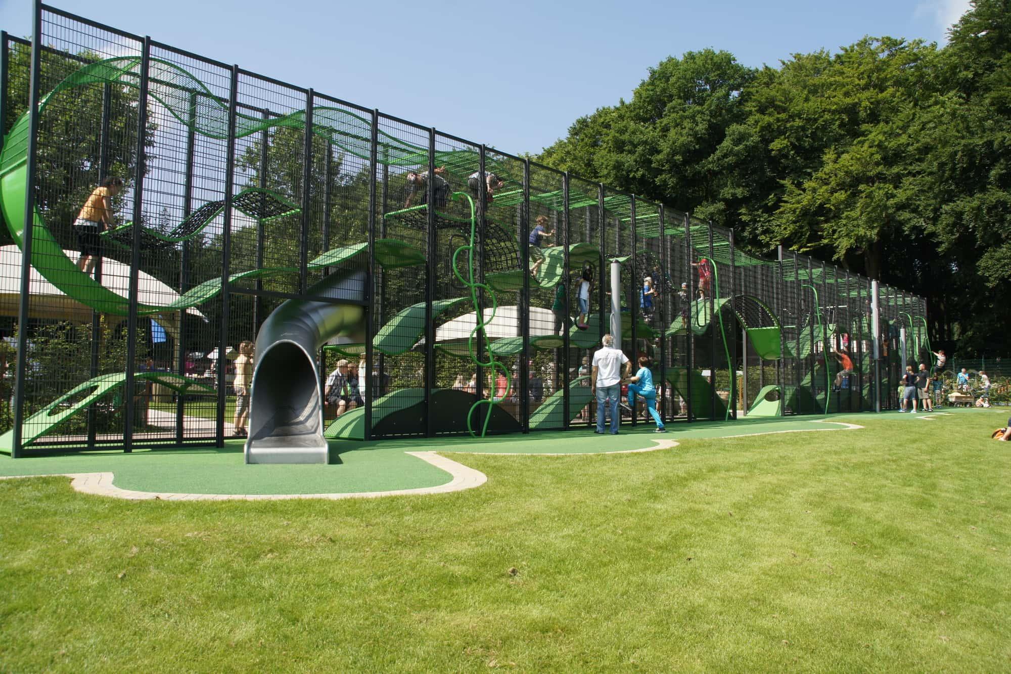 Wallholla playground