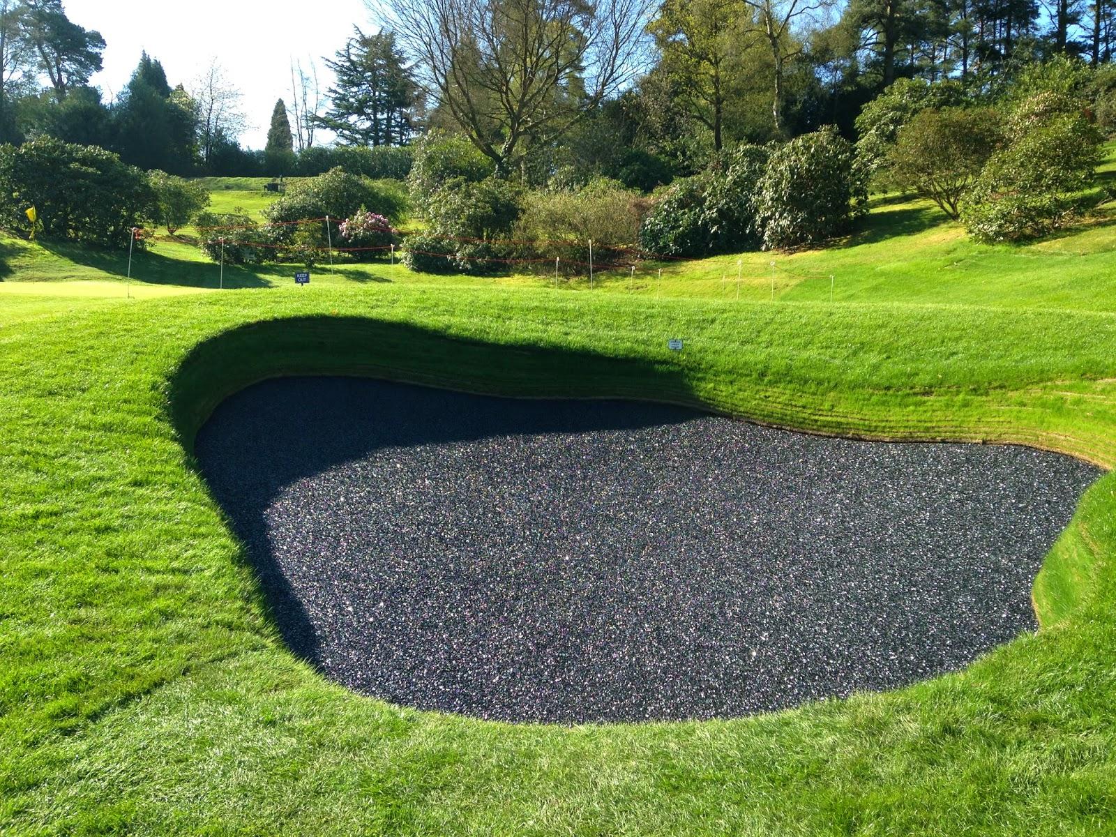 Golf Bunker Bunkerbase rubber liner