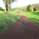 tigertrak path at golf course