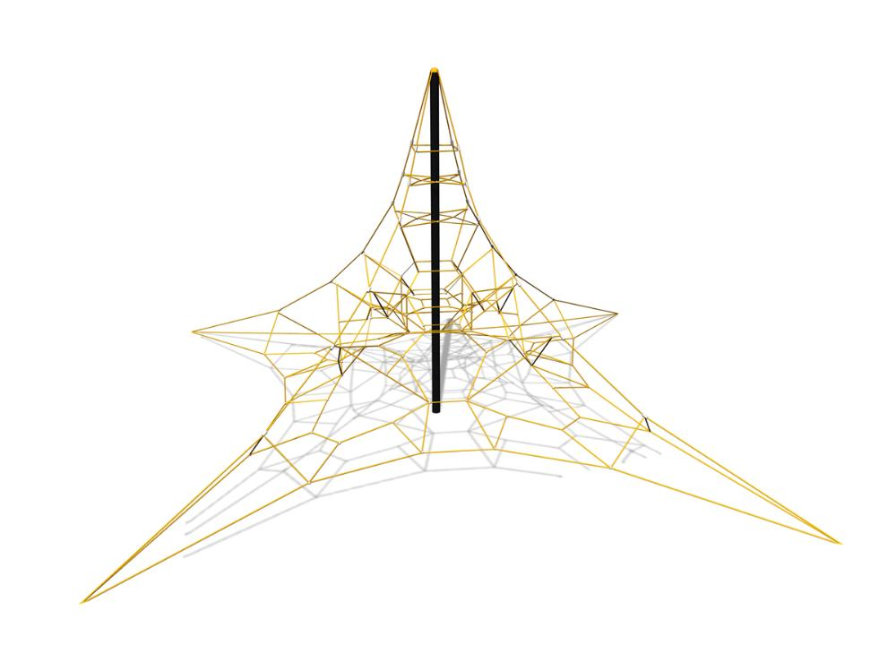 space net rope climbing frame