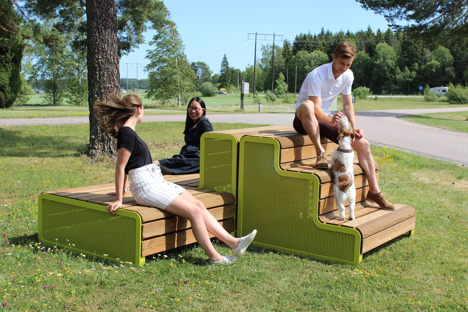 park furniture bench