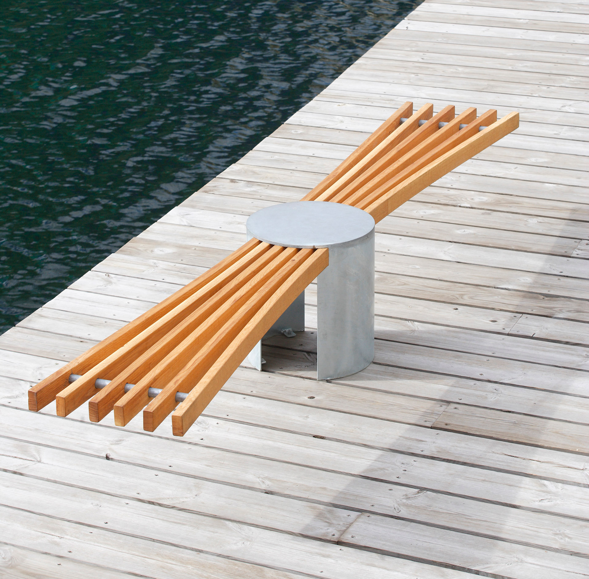sunray park bench