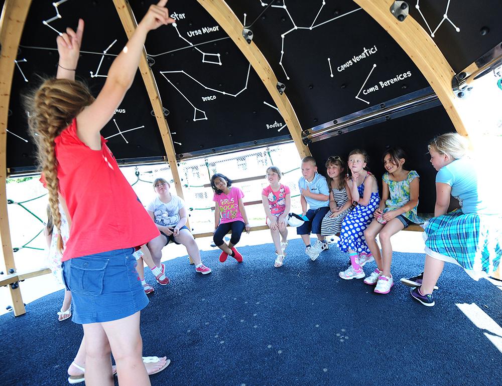 play planetarium playground equipment