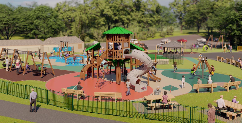 decoy park playground design devon